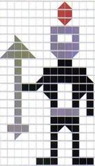 Aaron's mosaic