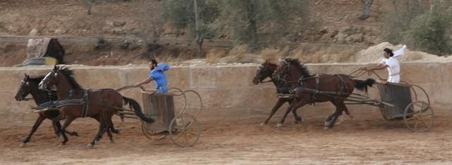JB chariot race in Jordan IMG_0460