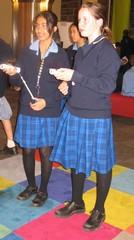 Divya and Emma in Experimedia