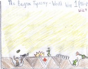 Bayeux Tapestry WW1 trenches intepretation