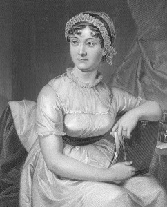 Jane Austen, public domain image drawn by her sister Cassandra