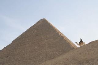 Pyramid and camel JB