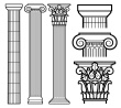 Greek columns from istockphoto.com pd